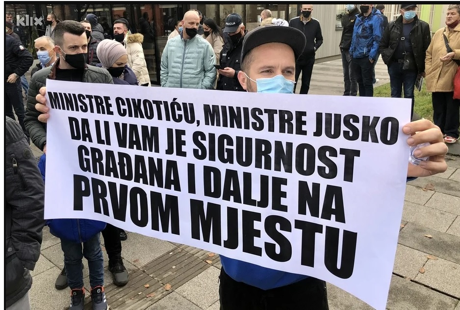 BiH: One man killed by immigrants; citizens call for increased protection