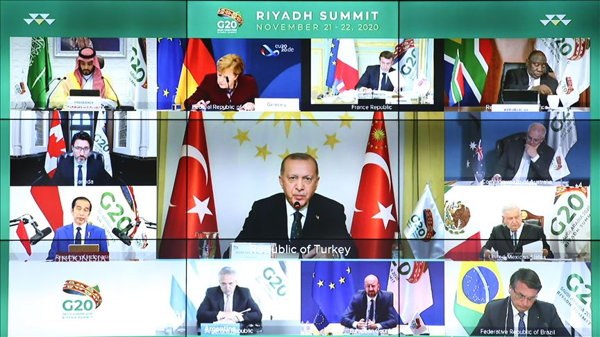 Turkey: Erdogan Attends G20 Summit