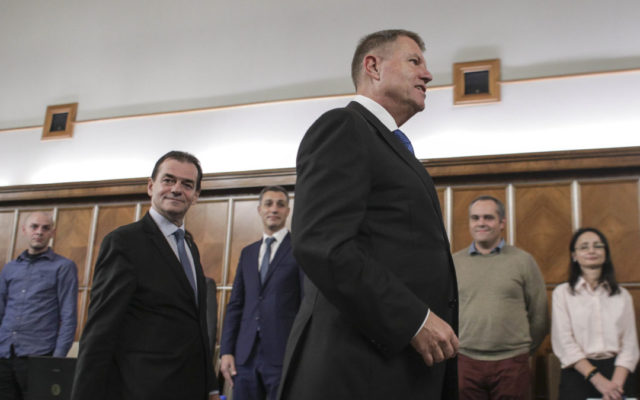 Romania: President Iohannis meets with PNL leaders