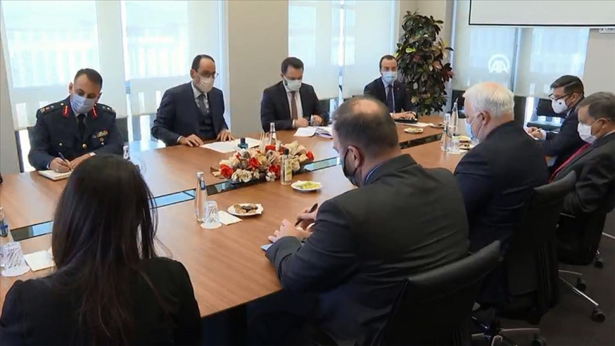 Turkey: Kalin meets with US Special Envoy for Syria