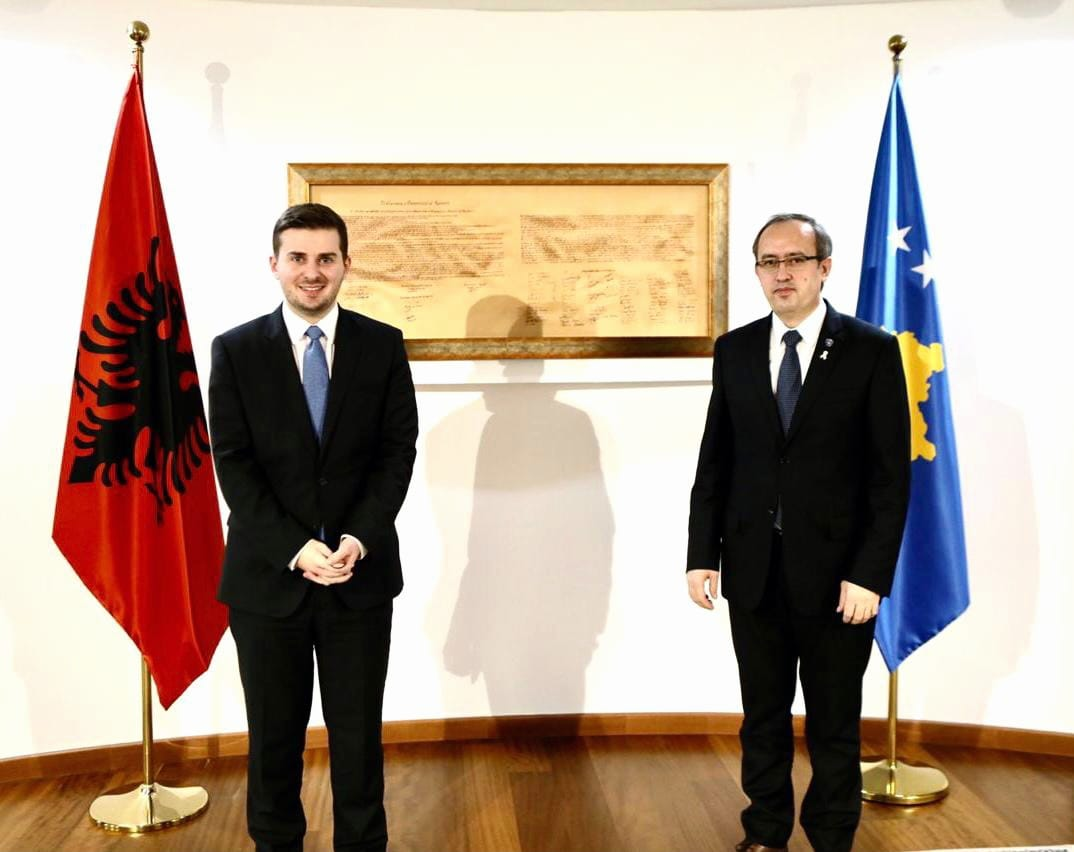 Albania: Hoti and Cakaj discuss Presevo Valley issue