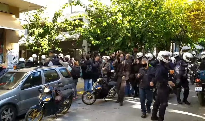 Greece: Police arbitrariness and violence mark the memorial for Grigoropoulos's Murder