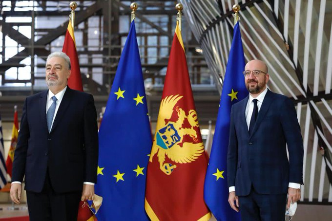 Montenegro: PM Krivokapić on first official visit to Brussels