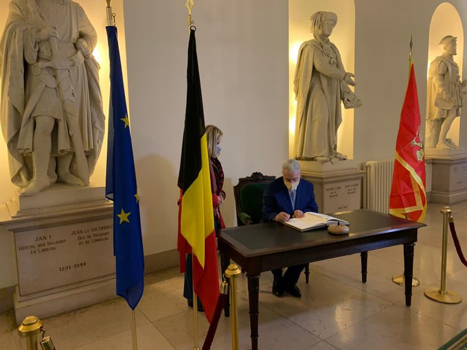 Montenegro: Krivokapić wraps up visit to Belgium
