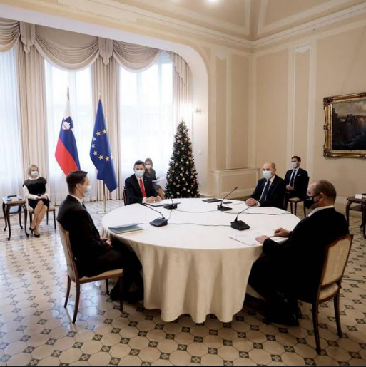 Slovenia: Traditional meeting of four Presidents held at Presidential Palace