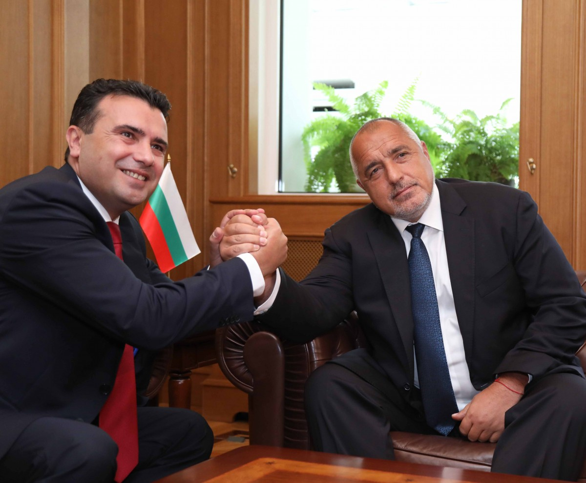 Borissov to Zaev: Always ready to help our closest neighbors and friends