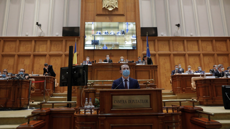 Romania: Cîțu Government sworn in