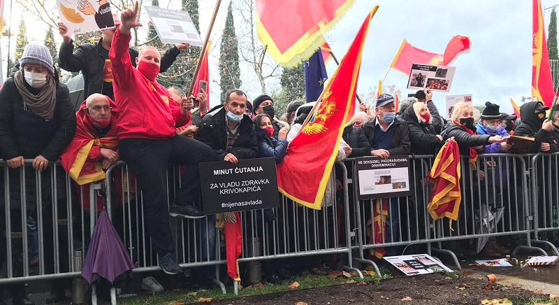 Montenegro: Protests erupt against amendments to Law on Religious Freedom
