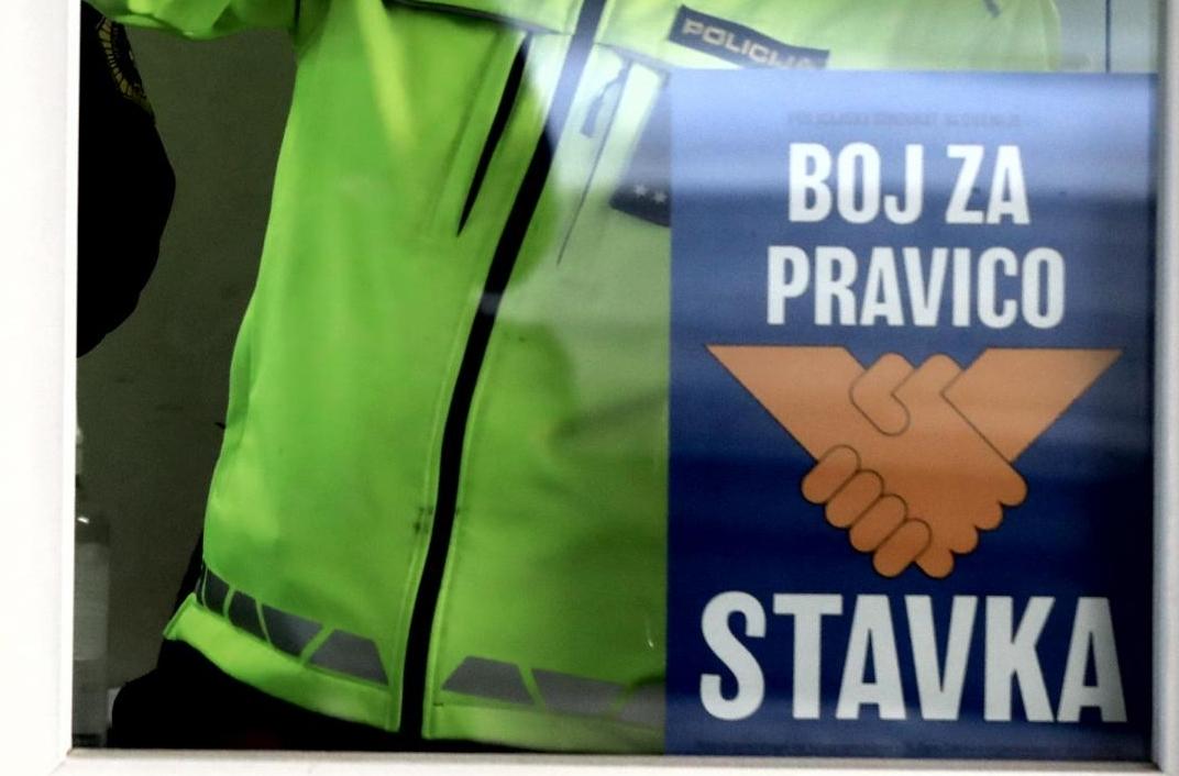 Slovenia: Police officers on strike