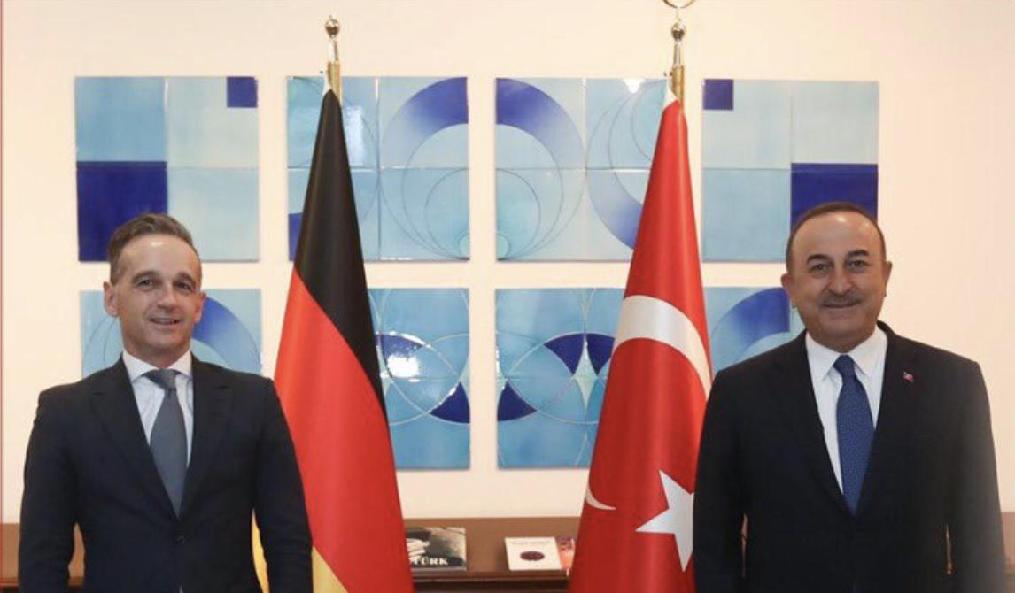 Turkey: Cavusoglu and Maas discuss Euro-Turkish relations, exploratory talks, Eastern Mediterranean and Ozil