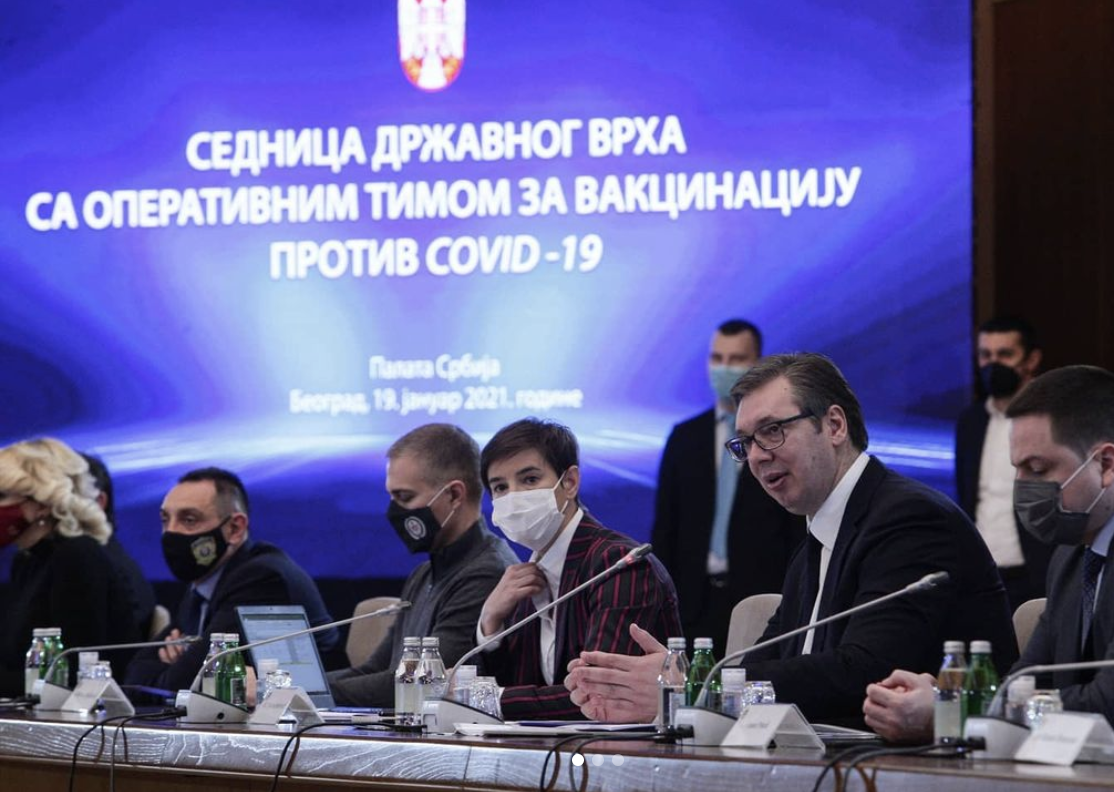 Serbia: Mass vaccination kicks off – Shots fired at the EU