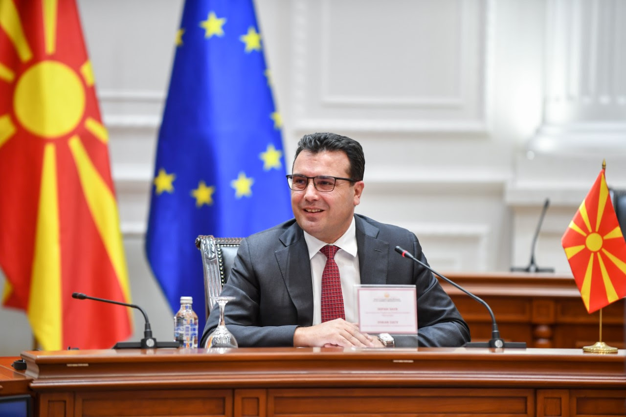 North Macedonia: Zaev attends annual meeting with EU ambassadors