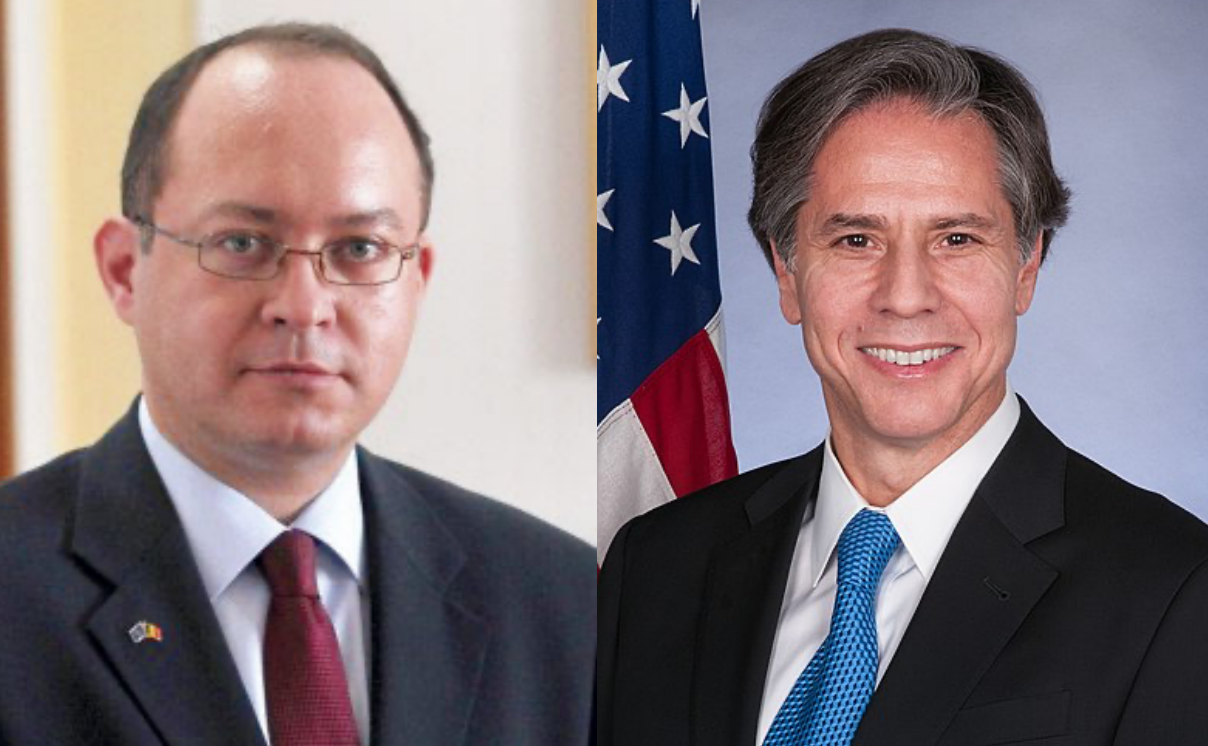 Romania: Aurescu contacts new US Foreign Minister