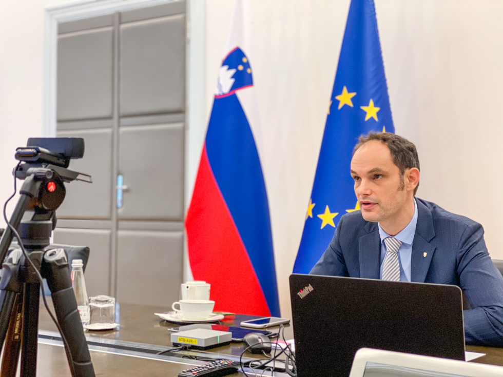 Slovenia: Europe's green and digital recovery only possible through effective cooperation and coordination, says Logar