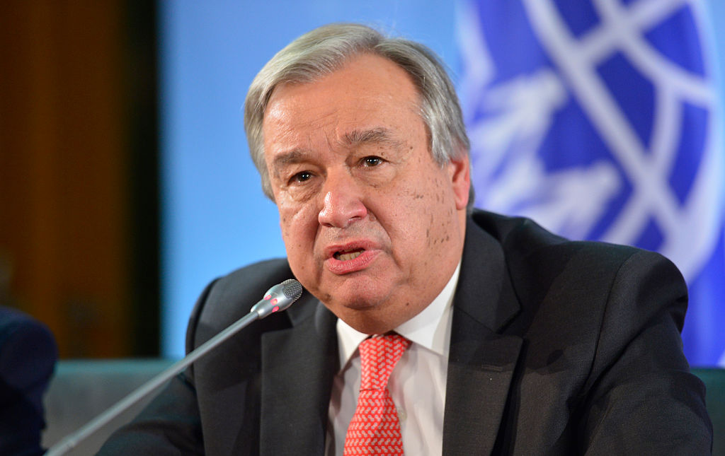 Guterres: The SC mandate for the Cyprus issue refers to a bi-zonal, bi-communal solution