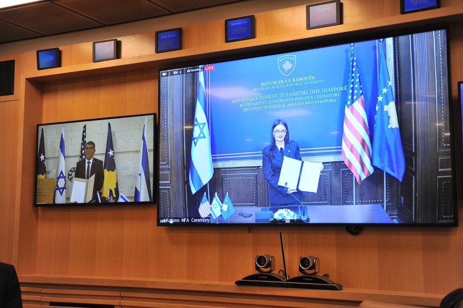 Kosovo and Israel formalize their diplomatic relations