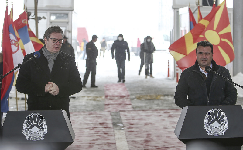 4,680 Pfizer vaccines delivered from Serbia to Zaev and North Macedonia in the presence of Vucic