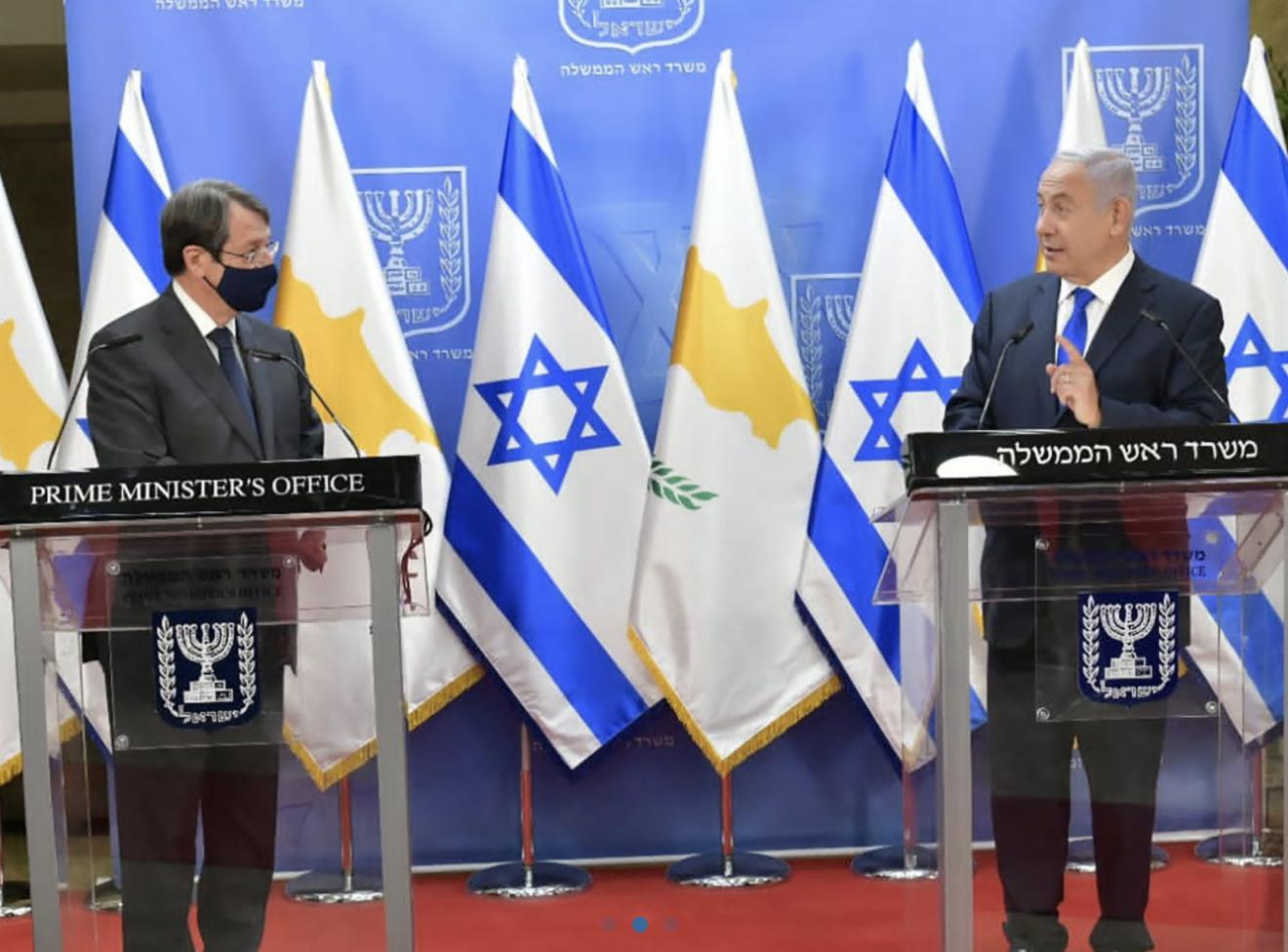 Cyprus: Anastasiades meets Netanyahu in Jerusalem