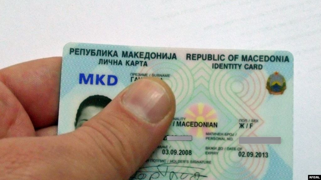 North Macedonia: Political entities divided over the issue of nationality on the new identity cards