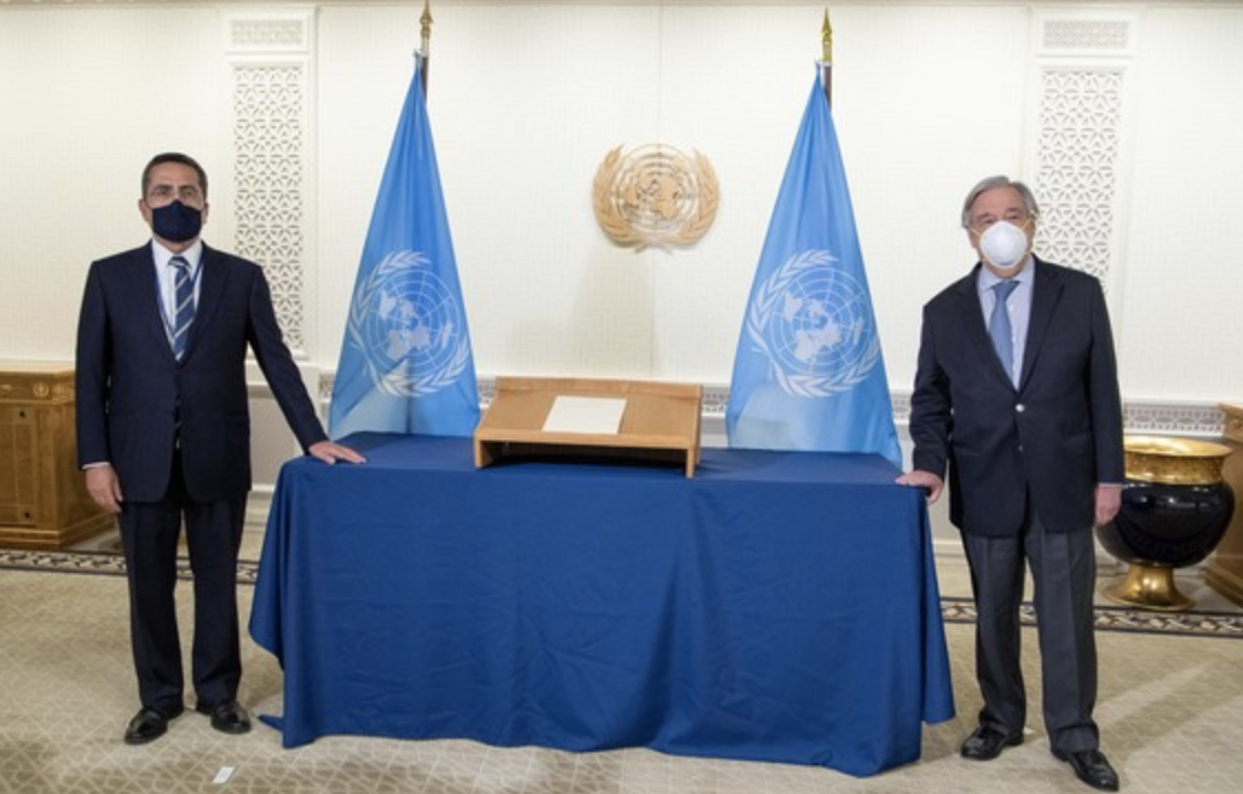 Cyprus: New Permanent Representative of the Republic of Cyprus to the UN presented his credentials