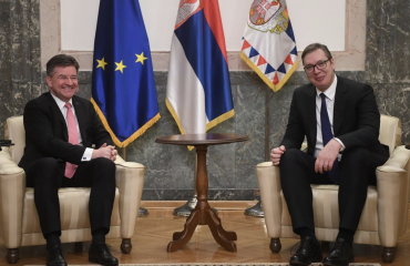 Serbia: Vučić met with Lajčák