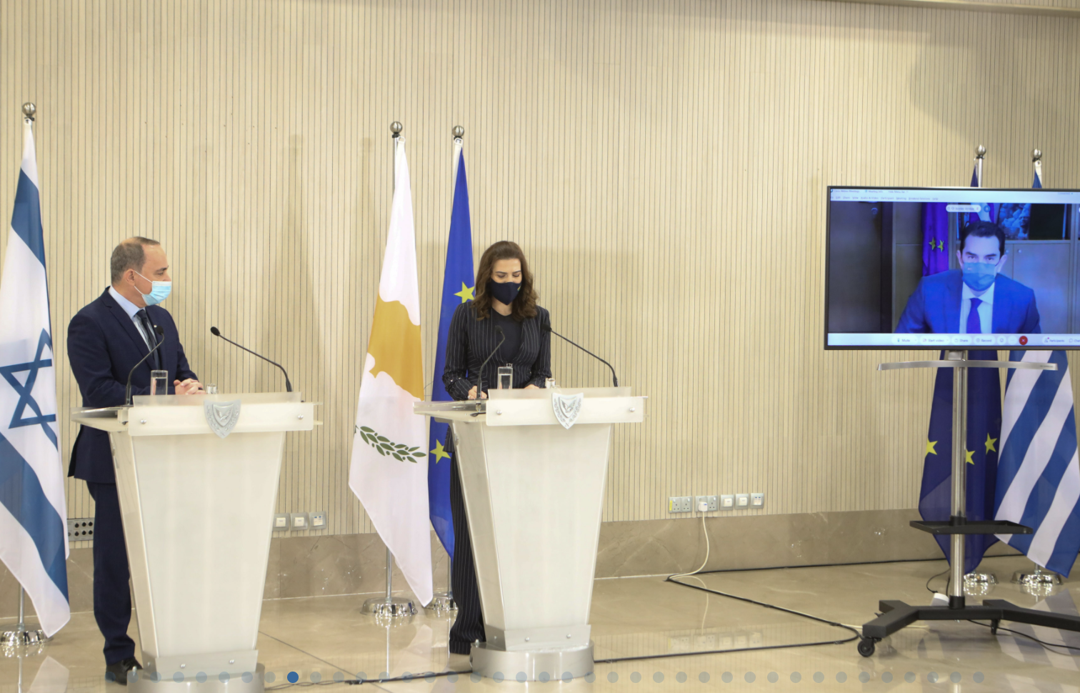 Cyprus, Greece and Israel sign MoU for co-operation on EuroAsia Interconnector project