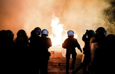Greece: Violent clashes with the police after the majestic peaceful demonstration against police violence