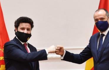 Montenegro: Abazović meets with Bitići in Skopje