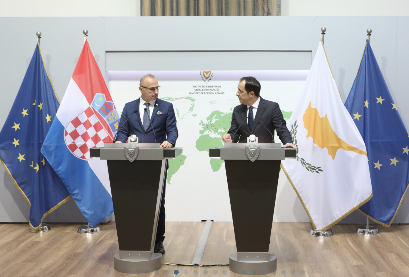 Croatia: Grlić Radman, Christodoulides discuss deepening of bilateral relations and co-operation in Nicosia