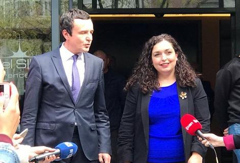 Kosovo: Vetëvendosje Movement invites parties to consultations for presidential election