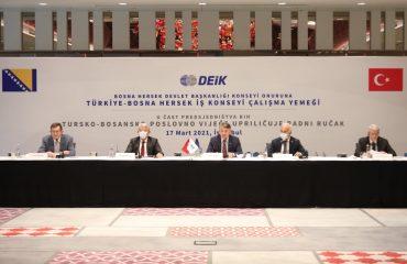 BiH Presidency Members continue their visit to Turkey