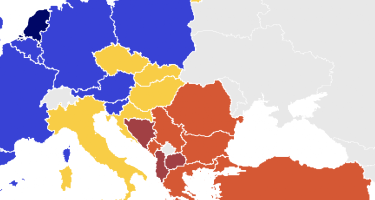 The Balkan countries at the bottom of the 2021 Media Literacy Index