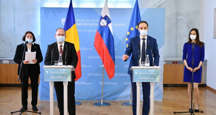 Slovenia: Minister Logar meets with Romanian counterpart