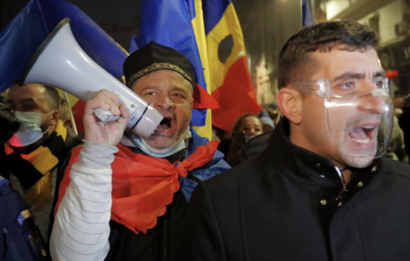 Romania: Iohannis condemns violent incidents at anti-lockdown protests