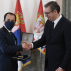 Serbia: President Vučič presents Christodoulides with Order of the Serbian Flag