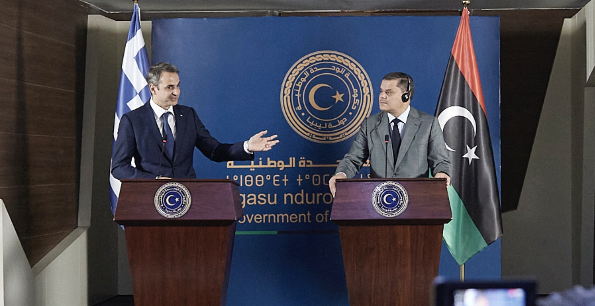 Libyan PM asks Mitsotakis for a Libyan, Greek and Turkish Joint Committee
