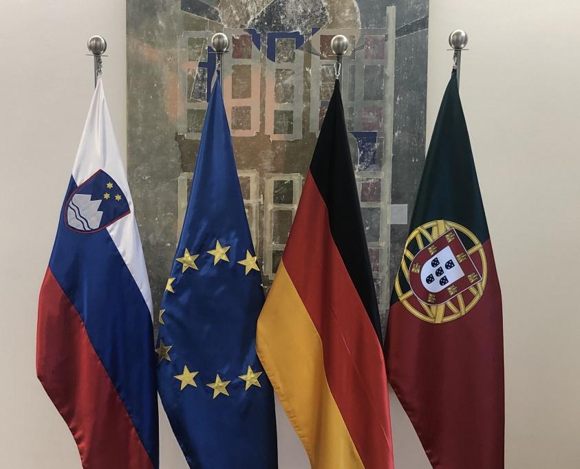 Slovenia: EU Presidency trio discusses security and defence
