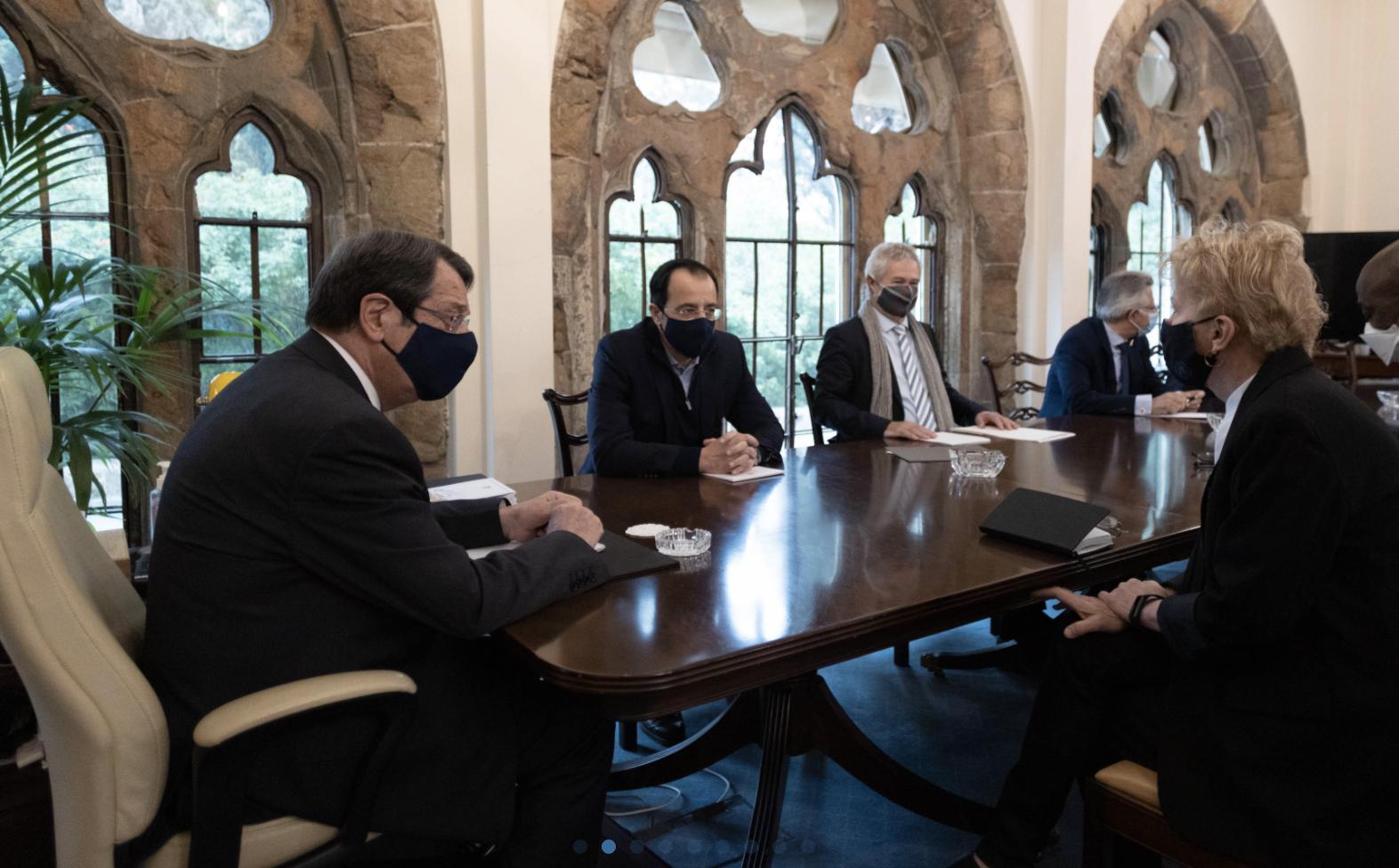 Cyprus: Lute met with Anastasiades, Tatar ahead of the Informal 5+1 Meeting in Geneva