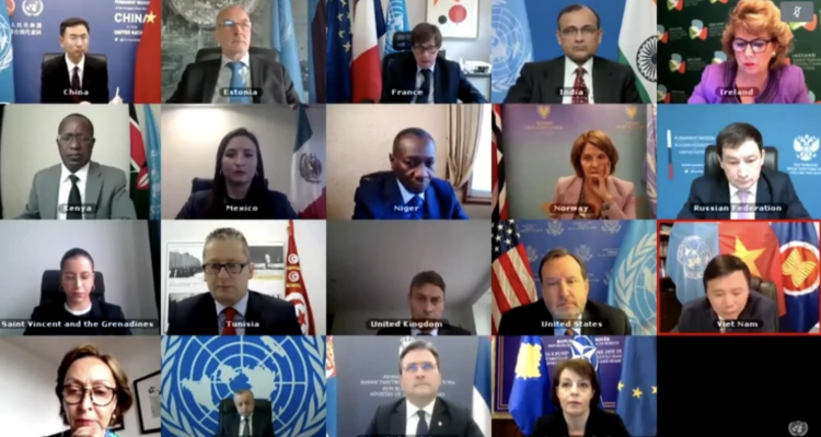 Tensions rise at UN Security Council virtual meeting following quarrel over Kosovo symbols