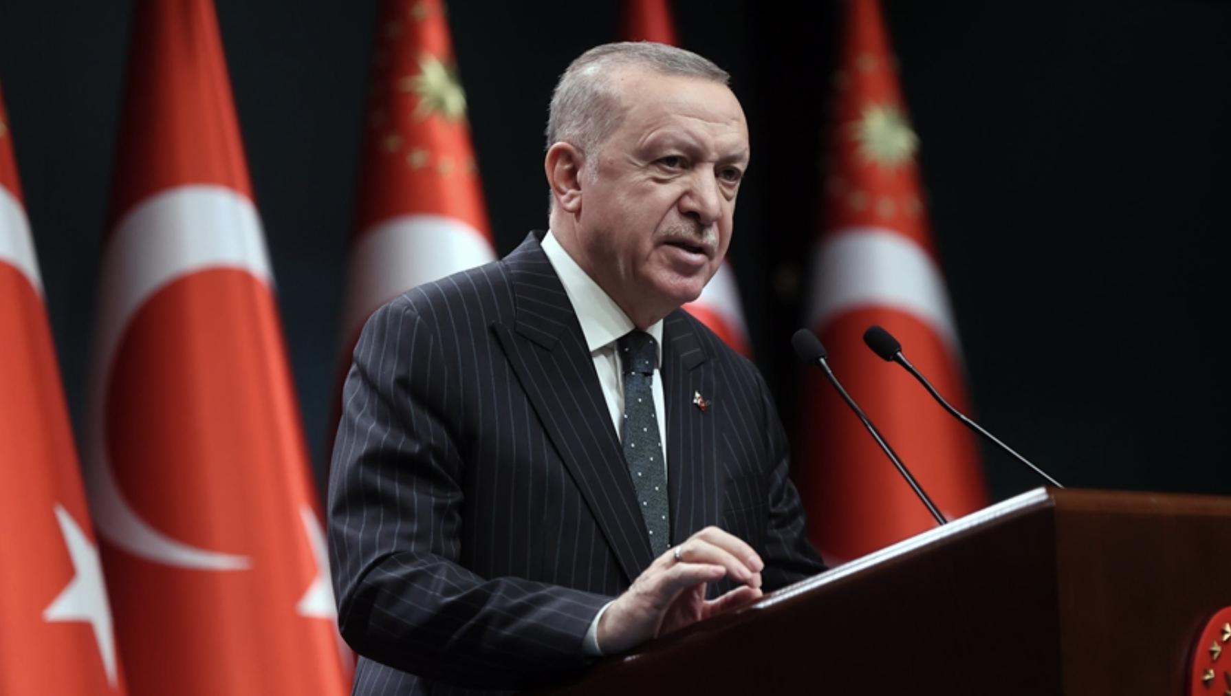 Turkey: Erdogan talks EU, Libya, Turkish Council and new restrictive measures after Cabinet meeting