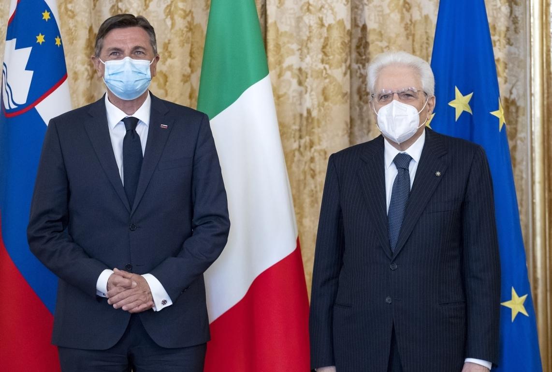 Slovenia: Pahor meets with Italian President Sergio Matarella in Rome