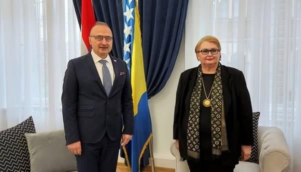 Grlić Radman: Croatia supports the territorial integrity of BiH