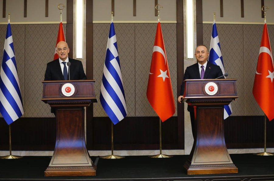 Turkey: Tensions rose between Dendias, Cavusoglu at the joint press  conference – Balkans News