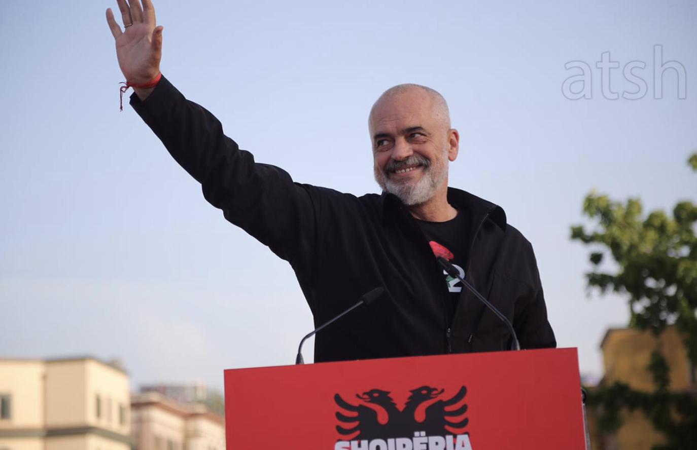 Albania: Edi Rama secured a third mandate