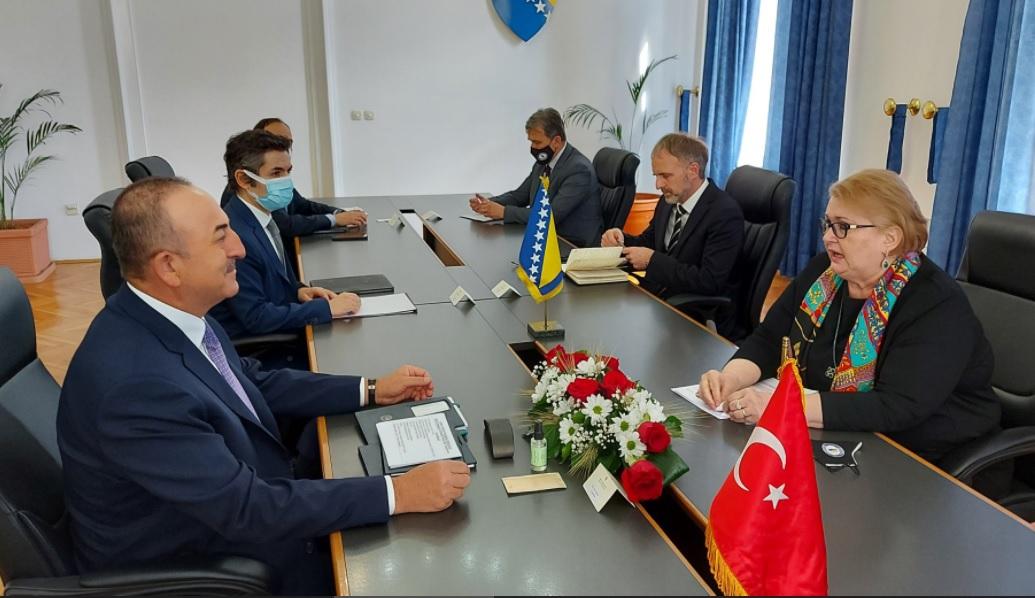 BiH: Turkey will continue supporting the progress of Bosnia and Herzegovina, stated Çavuşoğlu
