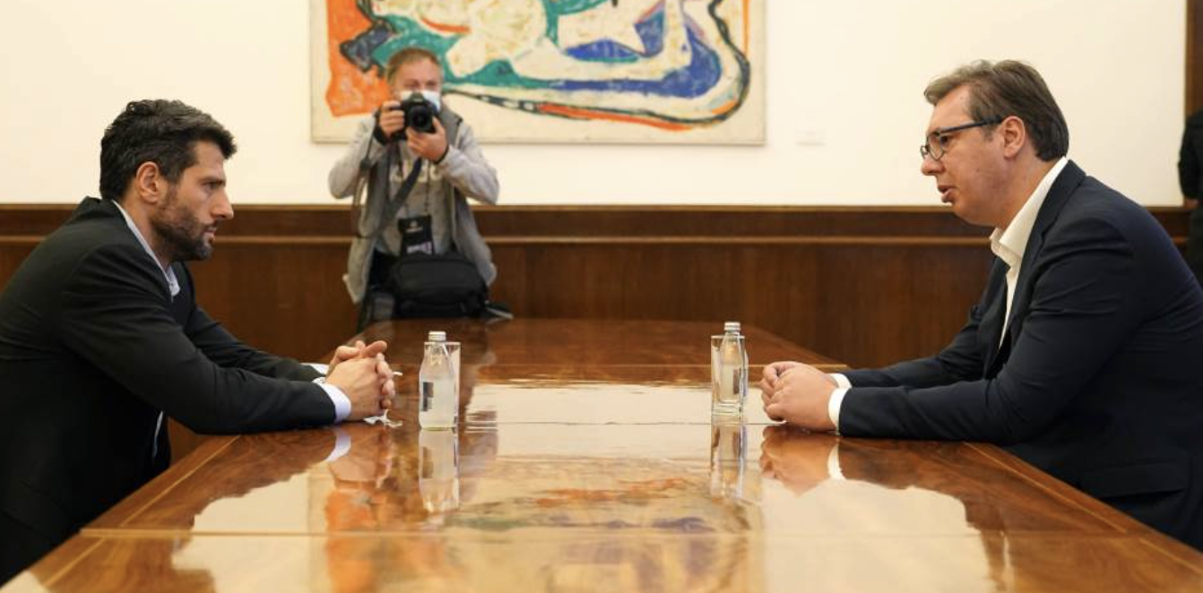 Serbia: Vučić and Šapić discuss unification of SNS and SPAS
