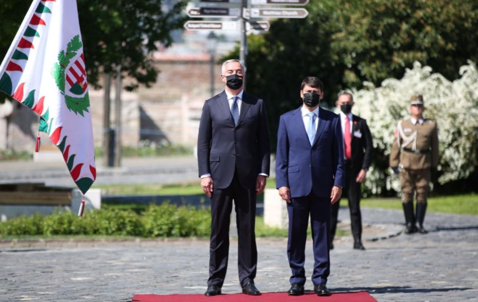 Đukanović on an official visit to Budapest