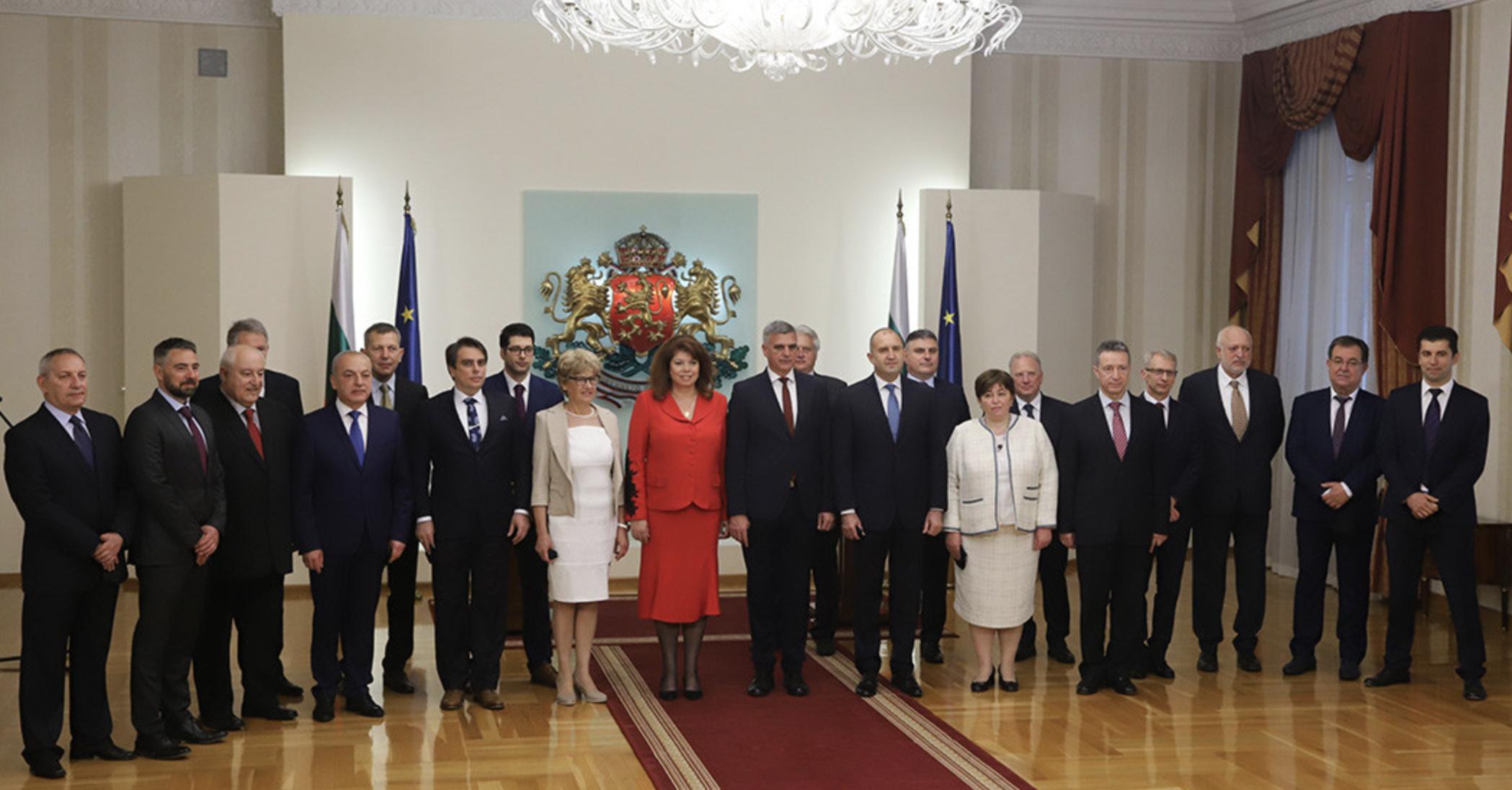 Bulgaria: Caretaker government sworn in before President Radev