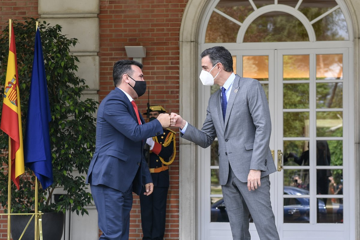 Spain supports North Macedonia on its path to the European Union