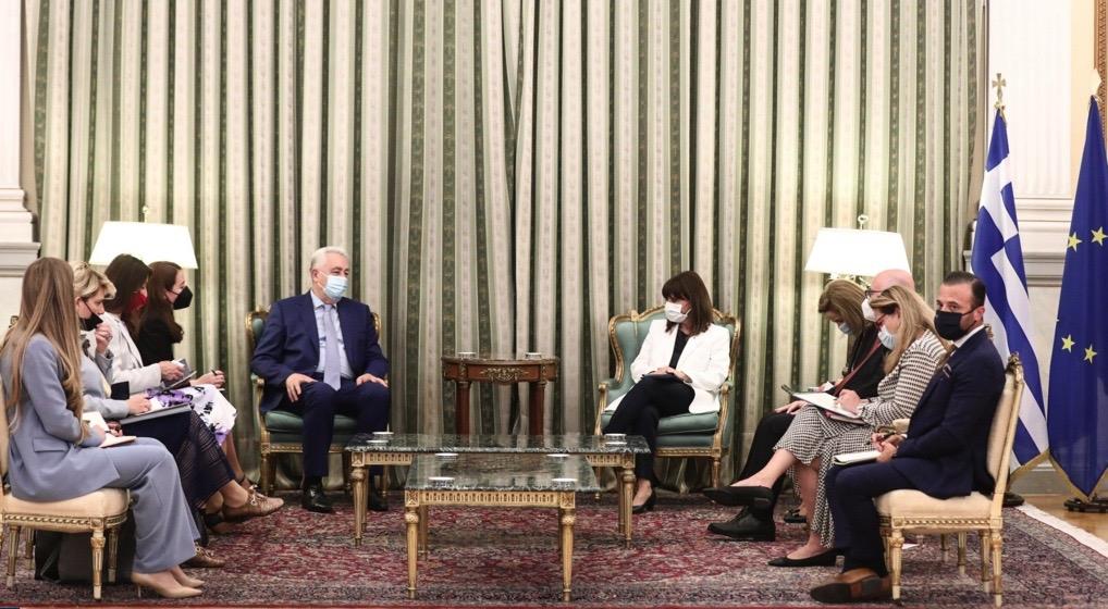 Montenegro: Krivokapić met Greek president Sakellaropoulou in Athens